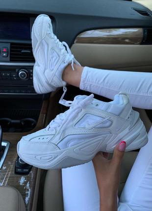 Стильные кроссовки 🔥 nike m2k tekno white 🔥