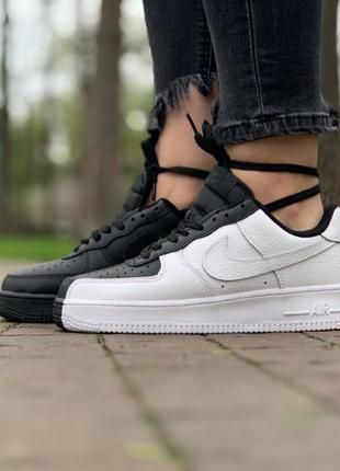 Крутые кроссовки 🔥 nike air force 1 low black/white  🔥