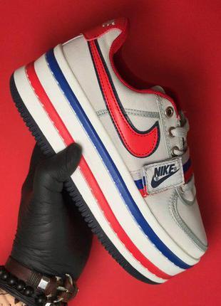 Стильные кроссовки 🔥 nike zoom vandal 2k white blue  🔥