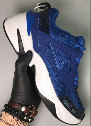 Стильные кроссовки 🔥 nike m2k tekno blue white  🔥