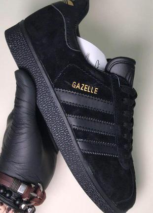 Стильные кроссовки 🔥 adidas gazelle black 🔥