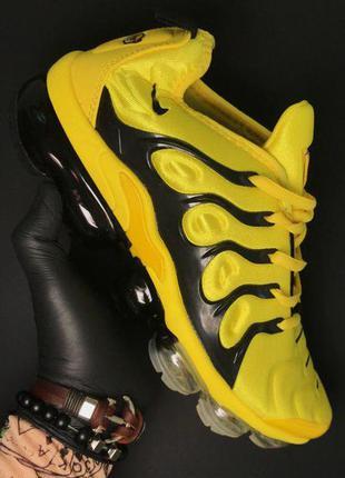 Стильные кроссовки 🔥 nike vapormax tn yellow black  🔥