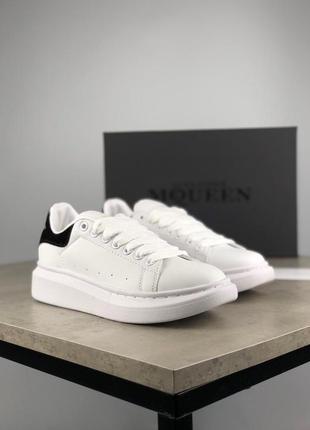 Стильные кроссовки 🔥 alexander mcqueen black white 🔥