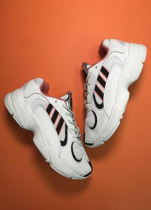 Стильные кроссовки 🔥 adidas yung 1 beige blac 🔥