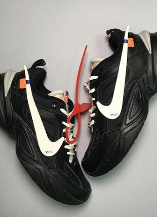 Стильные кроссовки 🔥 nike m2k tekno black white 🔥