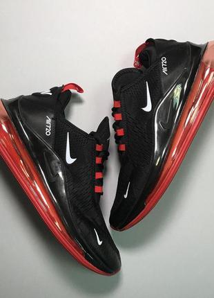 Стильные кроссовки 🔥 nike air max 720 black red 🔥