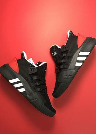 Стильные кроссовки 🔥 adidas equipment support black red 🔥
