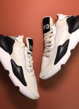 Стильные кроссовки 🔥 adidas yohji yamamoto beige black 🔥