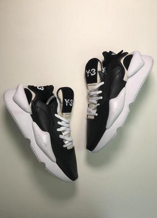 Стильные кроссовки 🔥 adidas yohji yamamoto black white  🔥