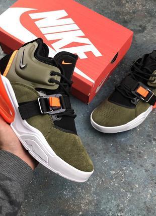 Стильные кроссовки 🔥 nike air force 270 haki 🔥