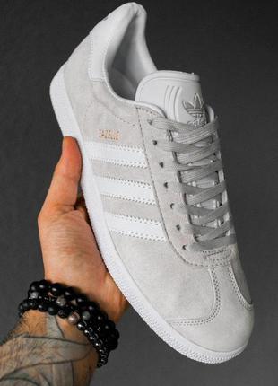 Стильные кроссовки 🔥 adidas gazelle grey 🔥
