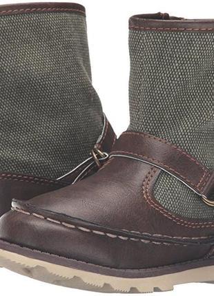 Ботинки детские carters eur  25 26 стелька 16,5 см сапожки дем...