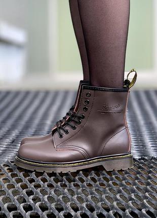 Стильные ботинки 🔥 dr martens 1460 brown 🔥