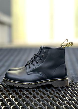 Стильные ботинки 🔥 dr martens 101 smooth black 🔥