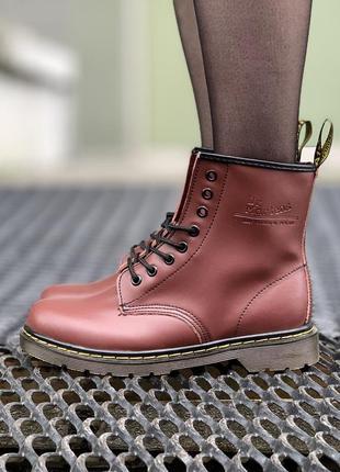 Стильные ботинки 🔥 dr martens 1460 cherry 🔥