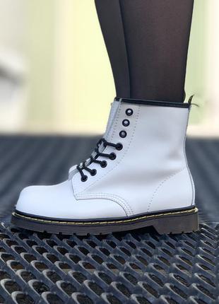 Стильные ботинки 🔥 dr martens 1460 white 🔥