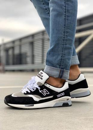 Стильные кроссовки 🔥 new balance 1500 black white  🔥