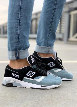 Стильные кроссовки 🔥 new balance 1500 blue black 🔥