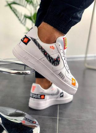 """Стильные кроссовки 🔥 nike air force """"just do it pack"""" 🔥"""