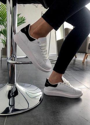 Стильные кроссовки 🔥 alexander mcqueen black/white 🔥