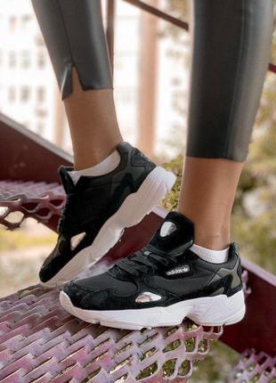 Стильные кроссовки 🔥 adidas falcon black 🔥