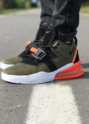 Стильные кроссовки 🔥 nike air force 270 olive green black/whit...