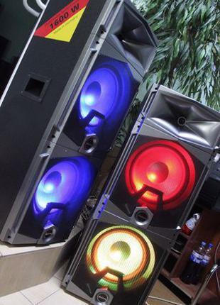 АКТИВНЫЕ КОЛОНКИ Мощная акустическая система Ailiang-Fenton 1600W