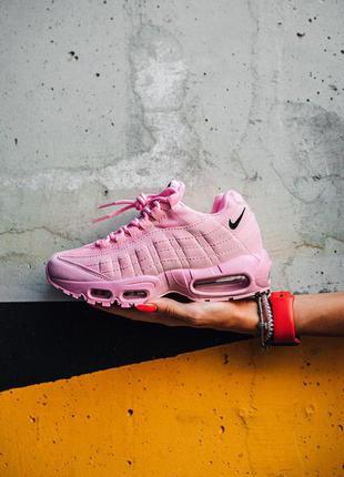 """Стильные кроссовки 🔥 nike air max 95 """"pink""""  🔥"""