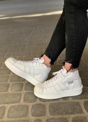 Стильные кроссовки 🔥 adidas x rick owens  triple white 🔥