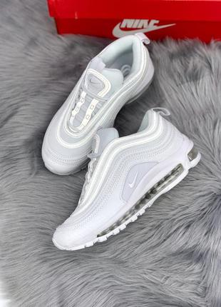 Cтильные кроссовки 🔥 nike air max 97 white 🔥