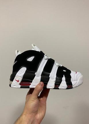 Стильные кроссовки 🔥 nike air more uptempo white/black 🔥