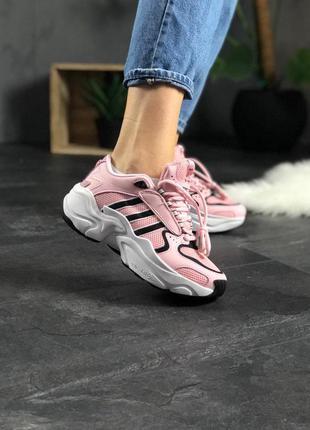 Стильные кроссовки 🔥 adidas x naked magmur runner pink white b...
