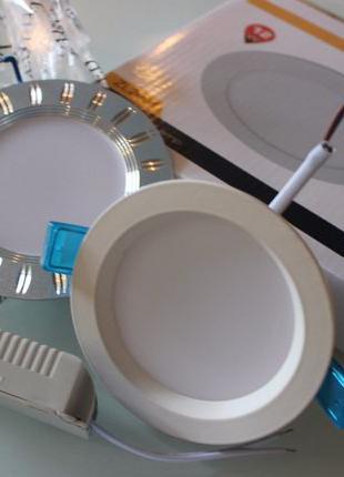 Новые NEW круглые LED светодиодные панели 110*диаметр - акция ...