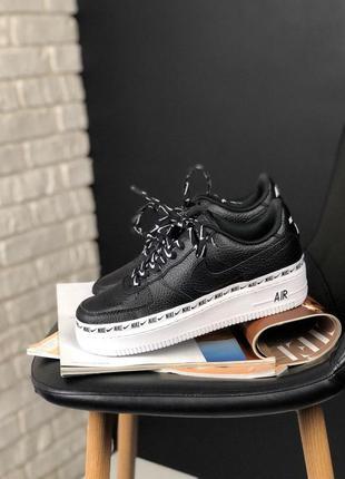 Стильные кроссовки 🔥 nike air force 1 '07 se premium black/white🔥