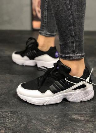 Стильные кроссовки 🔥 adidas yung 96 black white🔥