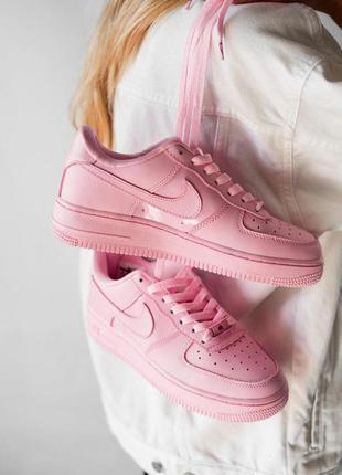 Стильные кроссовки 🔥nike air force lather pink🔥