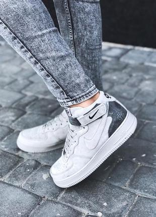 Стильные кроссовки 🔥 nike air force 1 mid x reigning champ🔥