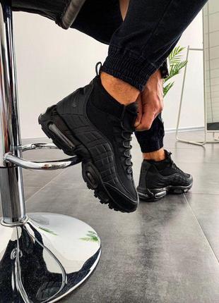 Стильные кроссовки 🔥 nike air max sneakerboot 95  🔥