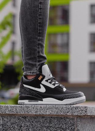 Стильные кроссовки 🔥 nike air jordan 3 retro tinker 🔥