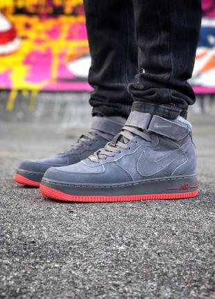 Стильные кроссовки 🔥 nike air force 🔥 зима мех