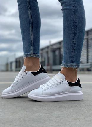 Стильные кроссовки 🔥 alexander mcqueen black white🔥