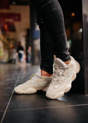 """Стильные кроссовки 🔥 adidas yeezy boost 500 «salt""""🔥"""
