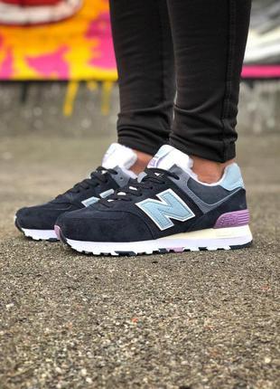 Стильные кроссовки 🔥 new balance 574 winter❄️❄️