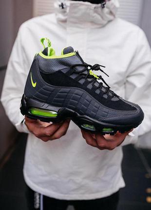"Стильные кроссовки 🔥 nike air max 95 sneakerb*ot ""black volt"" 🔥"