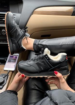 Стильные кроссовки 🔥 new balance 574 winter❄️❄️ мех