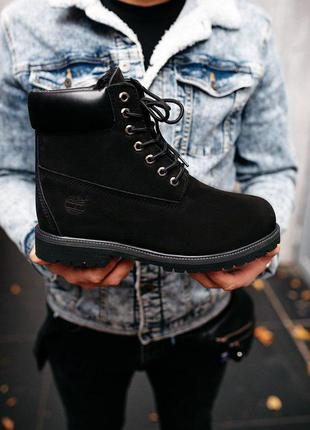 Стильные ботинки ❄️ timberland black❄️ на меху