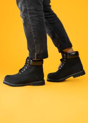 Стильные ботинки 🔥 timberland black 🔥 на меху