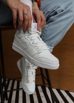 Стильные кроссовки ❄️ nike air jordan 1 retro❄️на меху