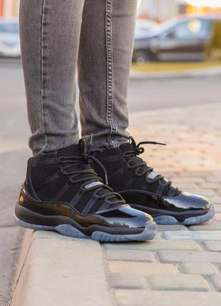 Стильные кроссовки 🔥 nike air jordan 11 retro black🔥