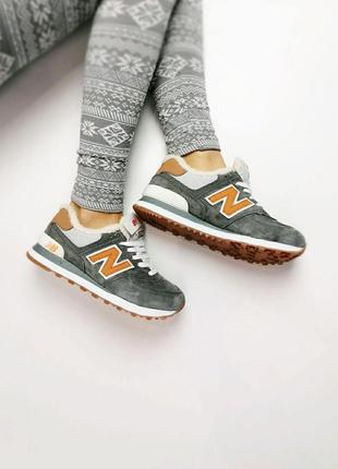 Стильные кроссовки ❄️ new balance 574 winter ❄️на меху